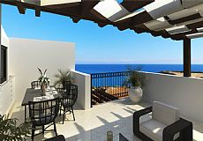 3 bedroom penthouse apartment with sea view for sale in North Cyprus - 8