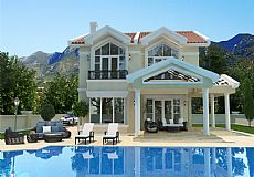 Stunning 4 bedroom villa for sale in Kyrenia city North Cyprus with breathtaking sea view  - 2