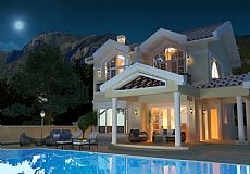 Stunning 4 bedroom villa for sale in Kyrenia city North Cyprus with breathtaking sea view  - 6