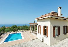 Resale villa for sale in North Cyprus with breathtaking sae view and private pool - 3