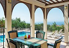 Resale villa for sale in North Cyprus with breathtaking sae view and private pool - 4