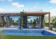 Beach front bungalow and villa for sale with unbeatable view in North Cyprus - 4