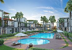 Brand new project right at the heart of Kyrenia city yet walking distance to sea
