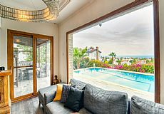 Simply the most luxurious villa with unmatched city and sea view in Kyrenia  - 7