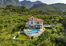 Unique luxurious mansion on the hills of Kyrenia overlooking city and Mediterranean