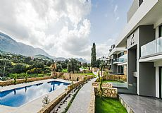 Bellapais apartments at Kyrenia city center with amazing view