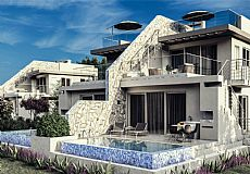 Exceptional beach front luxury apartments for sale in North Cyprus with private swimming pool - 1