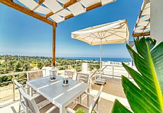 2 bedrooms private house with breathtaking sea and sunset view at Esentepe North Cyprus - 8