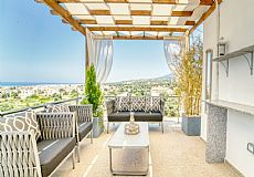 2 bedrooms private house with breathtaking sea and sunset view at Esentepe North Cyprus