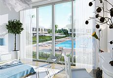 Brand new beach front project in North Cyprus with different types of apartments and villas - 4