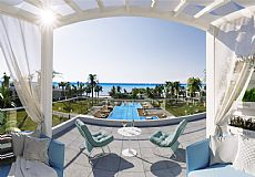 Brand new beach front project in North Cyprus with different types of apartments and villas