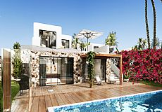Villas on the first line to the sea for sale in Northern Cyprus