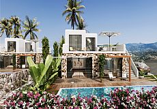 Villas on the first line to the sea for sale in Northern Cyprus - 2