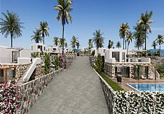 Villas on the first line to the sea for sale in Northern Cyprus - 4