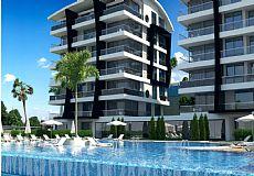 3-roms eksklusiv leilighet till salgs i Alanya - 8