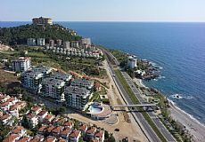 Beach front luxury property for sale in Alanya Kargicak - 7