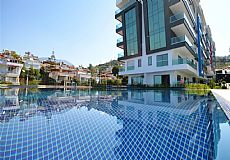 Beach front luxury property for sale in Alanya Kargicak - 9