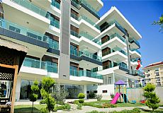 Luxury Beach Front 3 Bedroom Furnished Apartment For Sale in Alanya Kestel  - 5