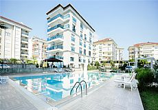 Luxury Beach Front 3 Bedroom Furnished Apartment For Sale in Alanya Kestel  - 6